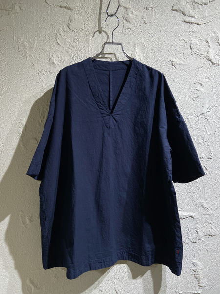 CASEY-CASEY/20SS/top cot 80 shirt/S/NVY