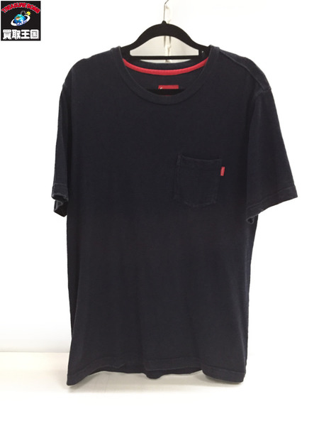 Supreme Pocket Tee NAVY (M)