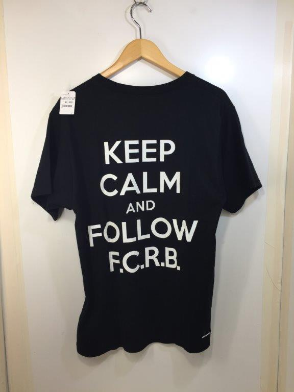 F.C.Real Bristol SUPPORTER TEE (L) BLK FCRB-178046 Tシャツ