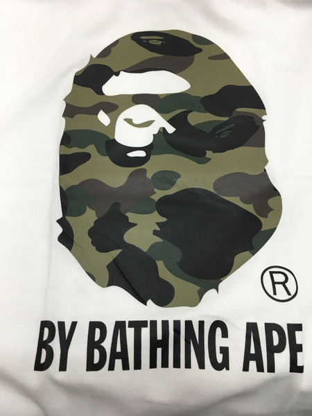 A BATHING APE カットソー アベイシング エイプ 白 M[値下]