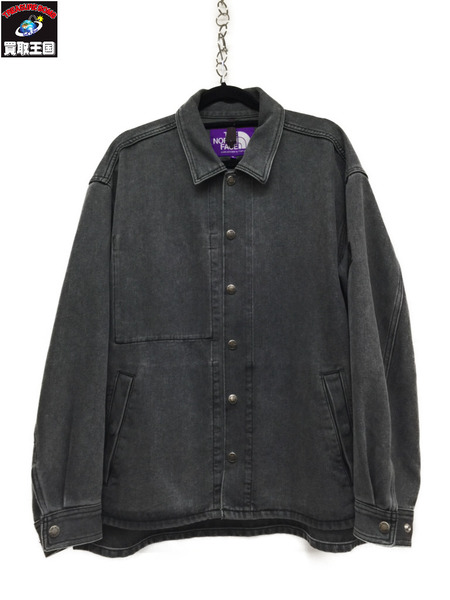 THE NORTH FACE PURPLE LABEL DENIM FIELD JACKET/S グレー