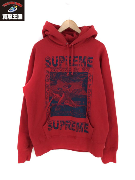 Supreme Doves Hooded Sweatshirt (M)