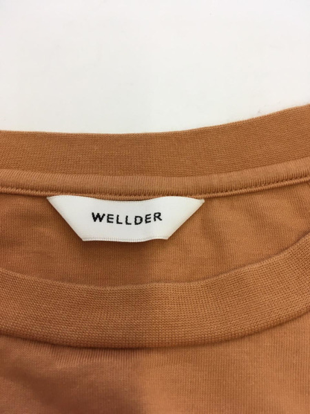 WELLDER Flutter Tail Buck Side Tucked Crewneck カットソー 3